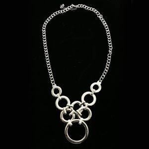 Luxury Y-Necklace Silver NWOT